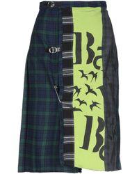 Antonio Marras 3/4 Length Skirt - Blue