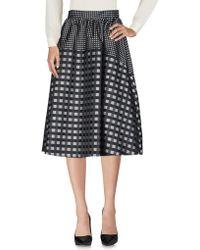 Suoli 3/4 Length Skirt - Black