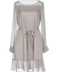 Aspesi Short Dresses - Grey