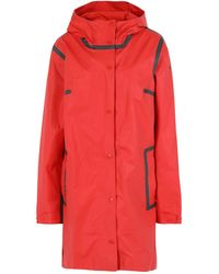 Columbia Overcoat - Red