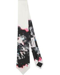 Alexander McQueen Tie - White
