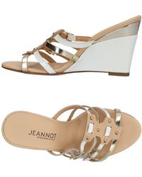 Jeannot Sandals - White