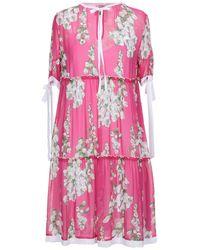 Blugirl Blumarine Short Dress - Pink