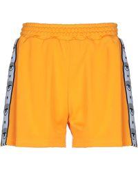 Chiara Ferragni Shorts - Orange