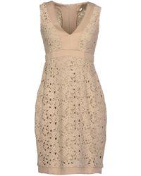 Fairly Kurzes Kleid - Natur