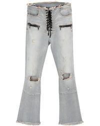 Unravel Project Pantalones vaqueros - Gris