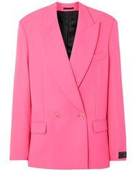 Vetements Suit Jacket - Pink