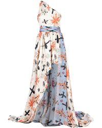 Fausto Puglisi Long Dress - White