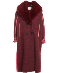 Vintage De Luxe Cappotto - Rosso