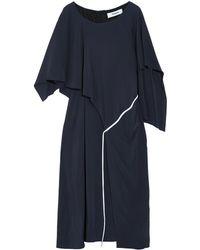 Chalayan 3/4 Length Dress - Blue