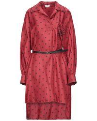 Fendi Vestito corto - Rosso