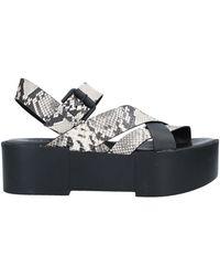 Vic Matié Sandals - Grey
