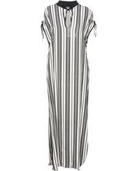 Carla G Long Dress - White