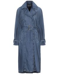 Patrizia Pepe Denim Outerwear - Blue