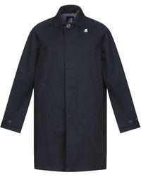 K-Way Overcoat - Blue