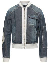 Armani Jeans Jeansjacke/-mantel - Blau