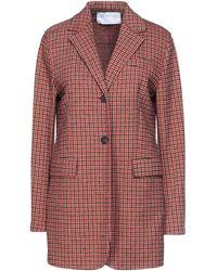 Harris Wharf London Suit Jacket - Red