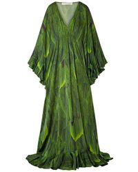 Naeem Khan Vestito lungo - Verde