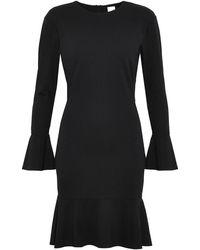 Iris & Ink Renalda Stretch-ponte Dress - Black