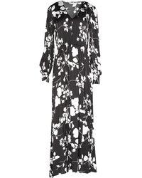 Caractere Long Dress - Black