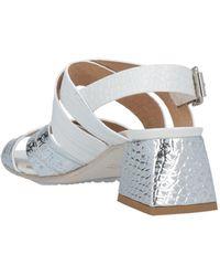 Laura Bellariva Sandals - Metallic
