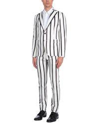 Brian Dales Anzug - Weiß