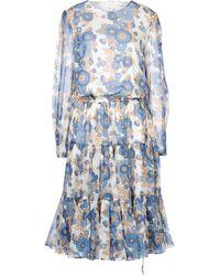 Manoush Knee-length Dress - Blue