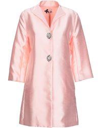 No Secrets Overcoat - Pink