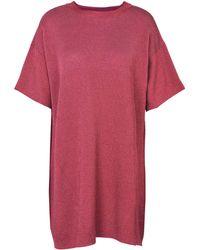 Laneus Short Dress - Pink