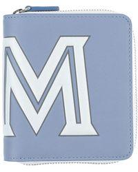 MCM Portefeuille - Bleu