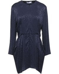 Roseanna Short Dress - Blue