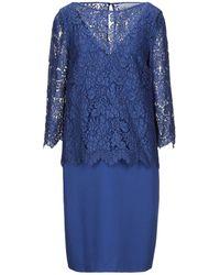Giorgio Grati Midi Dress - Blue