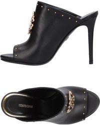 Roberto Cavalli Sandals - Black