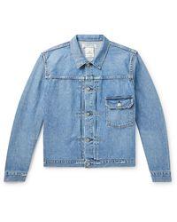 Remi Relief Denim Outerwear - Blue