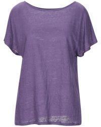 Stefanel T-shirt - Purple