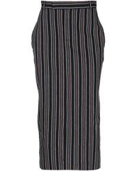 PT Torino 3/4 Length Skirt - Black