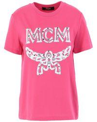 MCM T-shirt - Pink