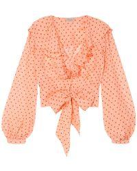 Temperley London Camisa - Rosa
