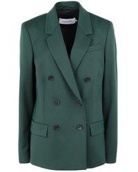 Calvin Klein Suit Jacket - Green