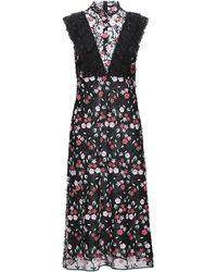 Giamba Midi Dress - Black