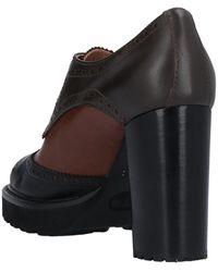Maria Cristina Chaussures à lacets - Noir