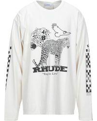 Rhude T-shirts - Weiß
