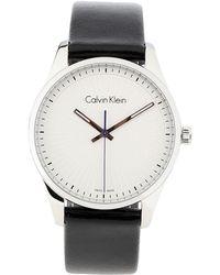 Calvin Klein Montre de poignet - Blanc