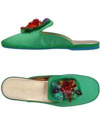 Car Shoe - Embellished Sandals - Lyst