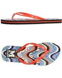 M Missoni - Toe Strap Sandals - Lyst