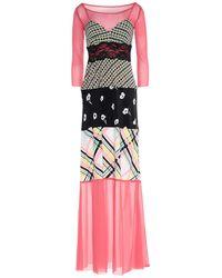 Pianurastudio Long Dress - Pink