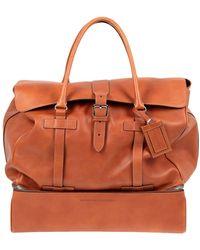 Brunello Cucinelli Travel Duffel Bag - Multicolour