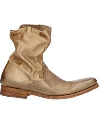 N.d.c. Made By Hand Ankle Boots - Natural