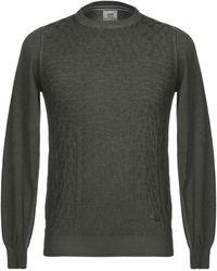 Henry Cotton's Pullover - Vert