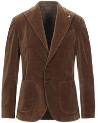 L.B.M. 1911 Suit Jacket - Brown